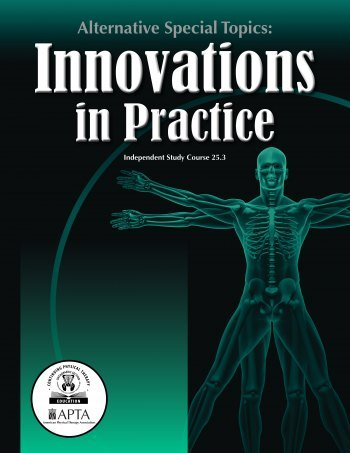 Alternative Special Topics: Innovations in Practice <br>