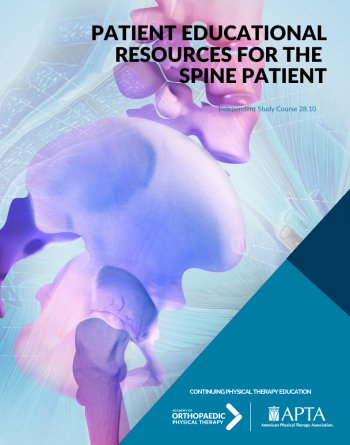 Patient Educational Resources for the Spine Patient